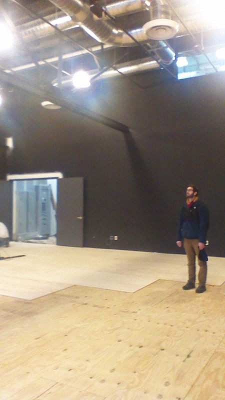Managing Director Elliott Rauh takes in that new space smell.