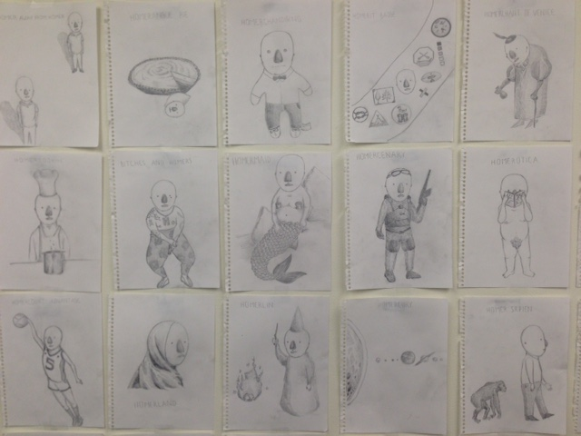 dufault's office wall 2
